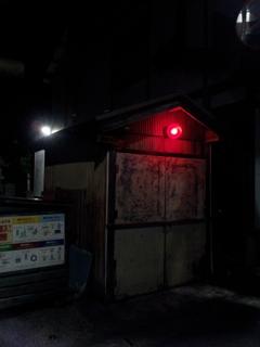 2017/05/17_夜の消防小屋