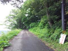 2018/06/16_天神山山頂への道