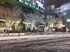 2018/01/22_都内の雪の夜