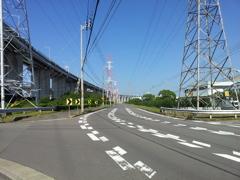 2017/10/26_瀬戸大橋脇の道
