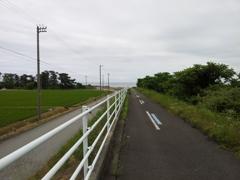 2018/06/16_早月川左岸から富山湾を望む