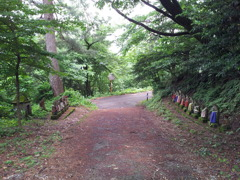 2018/06/16_天神山の石像群 坂東三十三番