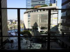 2017/10/27_大阪駅 時空(とき)の広場からの眺め