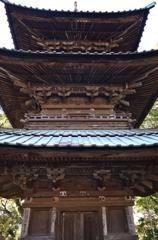 西明寺三重塔-1-
