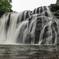 雨季の龍門の滝