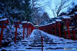 早朝の貴船神社