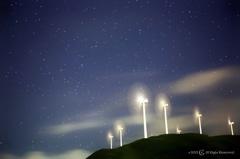 星と扇風機