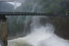 大滝ダム、橋?