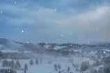 朝雪の星峠