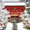 雪の鞍馬寺