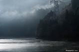 消えゆく朝霧