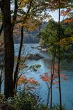 三河湖の秋2