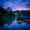 岡崎東公園夕景
