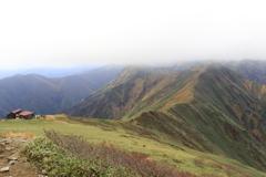 谷川岳 西黒尾根ルートを撮り歩く 5