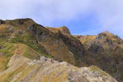 谷川岳 西黒尾根ルートを撮り歩く 3