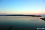 夕暮れ時の能登島