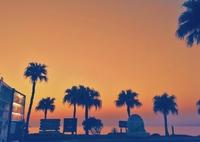 Sunset in Ohama