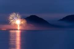 支笏湖湖水まつり花火大会