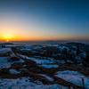 美ヶ原 残冬の朝