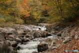 中津川渓谷の紅葉Ⅱ