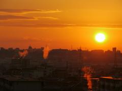 とある朝の街の息吹
