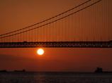 夕景 明石大橋4