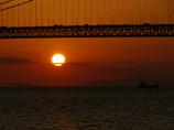 夕景 明石大橋5