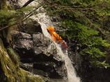 黒岩の滝6 滝登り 兵庫 神河町