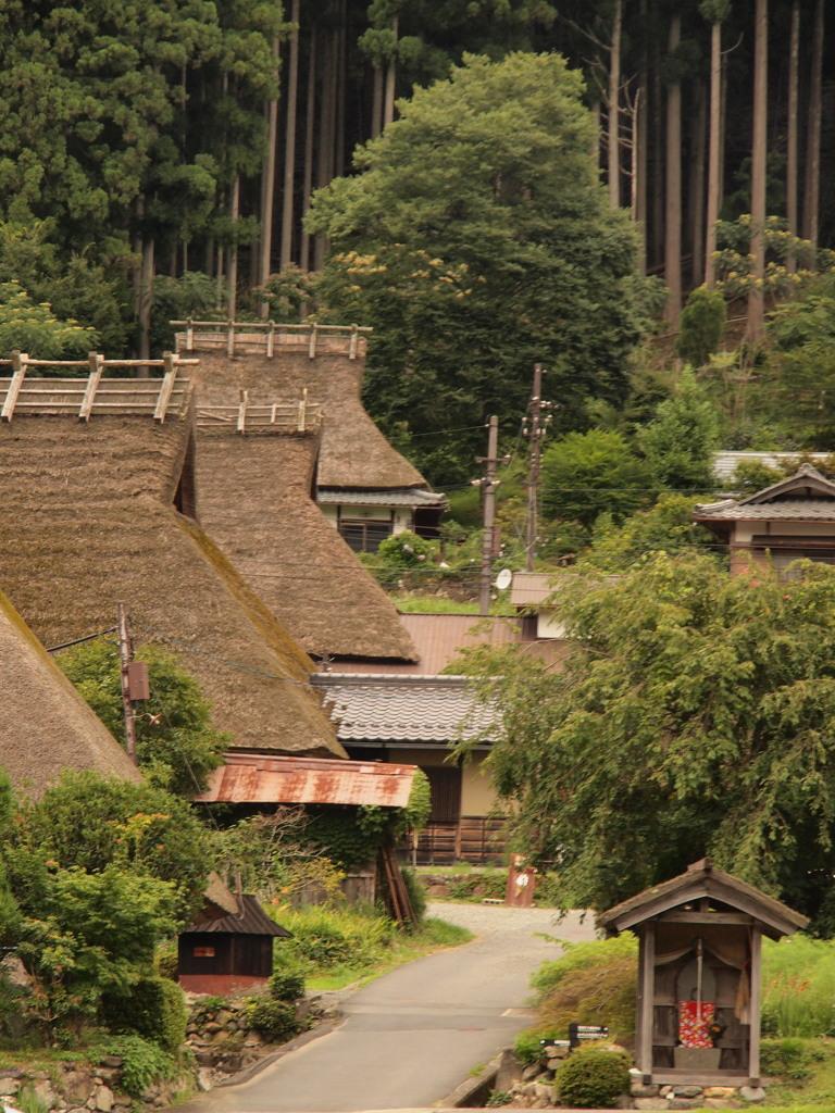 かやぶきの里 京都 美山3