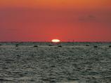 日没直前 播磨灘