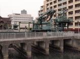 深川界隈 清澄排水機場