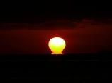 だるま夕日3 播磨灘