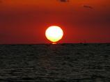 だるま夕日 開始 播磨灘