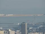 離陸(神戸空港 鵯越から)