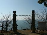 木庭神社から 播磨灘