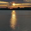 夏の日の夕方2