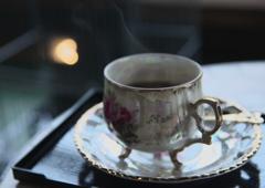 コーヒーの温もり