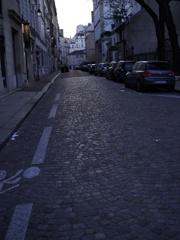 パリの裏通り