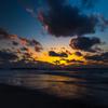 Winter Evening sea