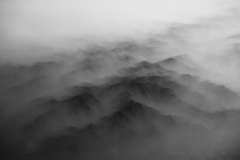 misty mountainous