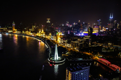 shanghai old city~the bund