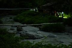 摂津峡の蛍②