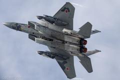 F15 機動飛行