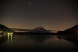 富士と星と雲と②