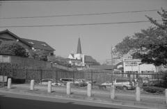 教会の見える風景