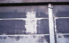 黒塗りの塀