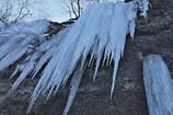 氷の造形  鑓