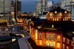 三年ぶりの東京駅