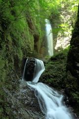 滝 二題  「竜化の滝」