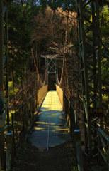 道所の吊り橋